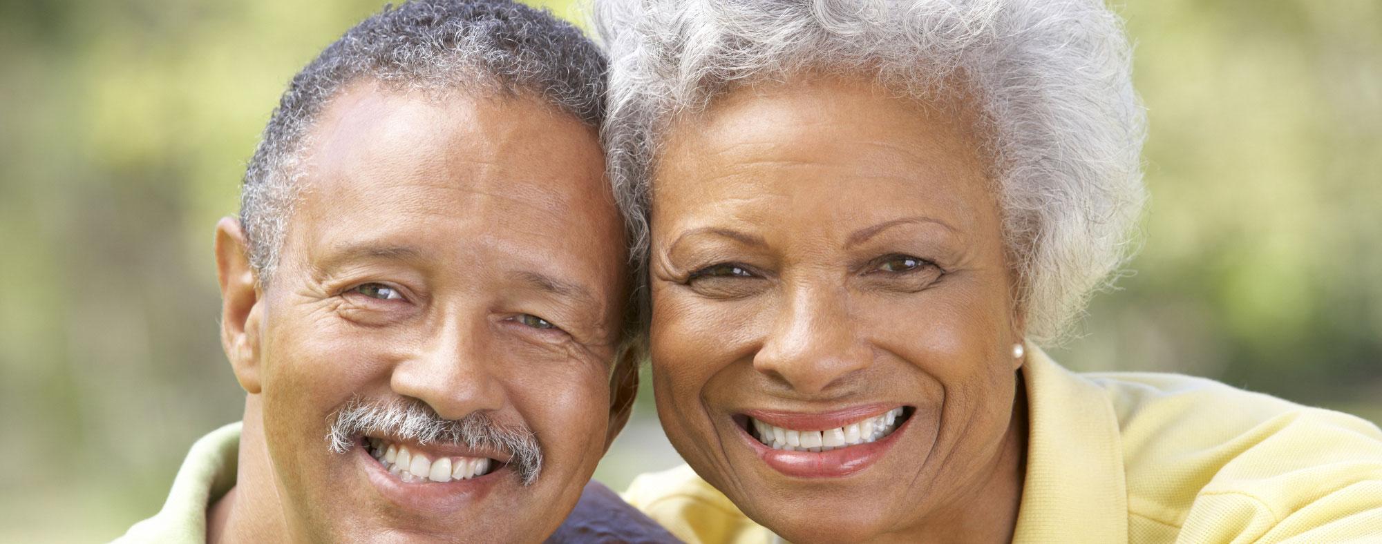 Senior African American Couple